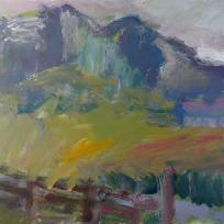 Colonsay, Acrylic on Paper