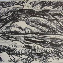 Benn Y Graig, Marker on Paper